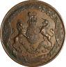 UK George V Bronze Coronation Medal 1911 38mm EF Old Verdigris (45)