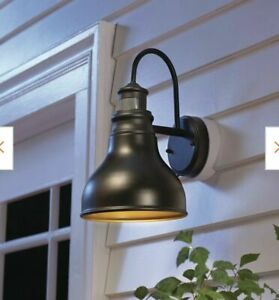 Home Decorators Outdoor LED Motion Sensor Wall Barn Sconce Lantern Lights