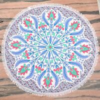 Tapestry Beach Round Mandala Hippie Blanket Throw Towel Mat Indian Boho Picnic