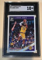 2018-19 Panini Donruss Optic #94 LeBRON James SGC 10 Gem Mint Lakers