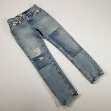 Levi's Limited Ripped 511 Slim Jeans Size 28x30 90s style reworked Distress NWT