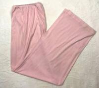 Vintage Vanity Fair Silky Nylon Pajama Pants Loungewear Pink Sz 2X