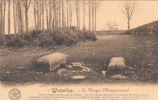 CPA BELGIQUE BELGIUM WATERLOO 4 le verger d'hougoumont tombeau Lucis & Cotton