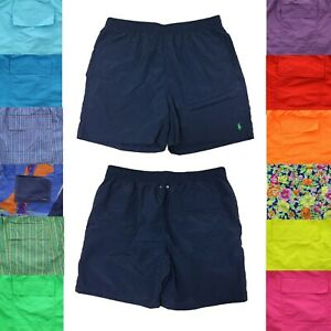 Polo Ralph Lauren Mens Swimsuit Shorts Big and Tall Lined Swim Trunks