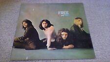 FREE FUOCO E ACQUA 2nd ISLAND PINK RIM STEREO UK LP 1970 A5/B5 RARO ROCK BLUES
