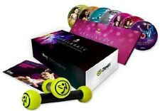 Zumba Exhilarate Body Shaping System - 7 DISC SET (DVD New)