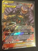 Marshadow e Machamp GX •82/214 ALLEATI Holo Rara POKÉMON Carta ITA MINT PS 270