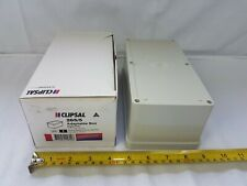 Clipsal 265/5 Adaptable Box Enclosure Rigid PVC 211 x 108 x 81 mm - New