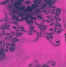 70 Denier Footless Vintage Floral Print Tights