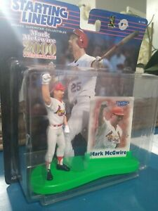 2000 Mark McGwire Unopened Commemorative Starting Lineup Figure