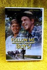 WALT DISNEY CLASSIC FILM: FOLLOW ME, BOYS! NEW/SEALED DVD RTED G-FAMILY FRIENDLY