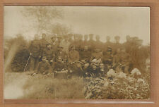 Cartes Photo RPPC prisonniers de guerre camp de Hameln photo Coldenstrodt m0160