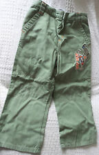 NAVIGATOR GREEN TROUSERS TO FIT AGE 2 - 3 YEARS IN GREAT CONDITION