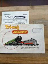 More details for triang railways catalogue 1st edition with price list 1955 original rare