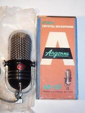 Argonne Studio Crystal Microphone AR-57 Vintage Japan Pill Mic in Box NICE!!!