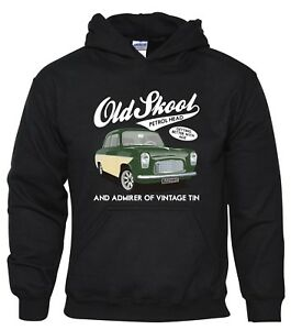 Anglia 100E Youth Hoody Children's Size Classic Car Vintage Ford