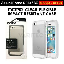 Incipio Clear Flexible Impact Resistant Case Cover for Apple iPhone SE/5/5s