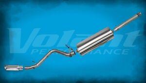 2014 2015 Chevrolet Silverado 1500 5.3L Volant Polished Single Side Exit Exhaust