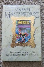 MARVEL MASTERWORKS HC AVENGERS 9 VARIANT OF 450 COLLECTS 11-20 RARE OOP SEALED