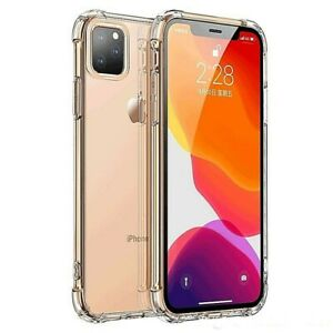 For  iPhone 11 Pro Max XR X XS XSMAX  8 7 Plus Silicone  Shockproof Clear Case
