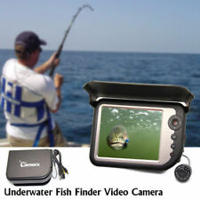 Color Monitor 5.0'' LCD FishFinder Underwater Video Fishing Camera IR Lights 25M