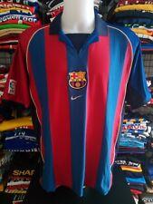Maglia Calcio BARCELLONA Barcelona football camiseta shirt Jersey Trikot 2001/02