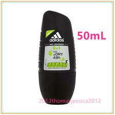 Adidas For Men 6 in 1 Cool & Dry Antiperspirant Deodorant  48H Protection 50ML