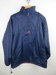 Slazenger Reversible Jumper Pullover Mens Size M Soft Shell Fleece 1/4 Zip