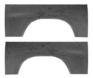 Upper Rear Wheel Arch quarter bed panel fits 97-04 Dodge Dakota PAIR