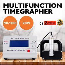 Zeitwaagen  Watch detaillierter LCD MTG Tester Zeitwaage Maschine Zeitwaage N