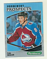 2019-20 Upper Deck PARKHURST PROMINENT PROSPECTS CALE MAKAR RC Rookie Avalanche