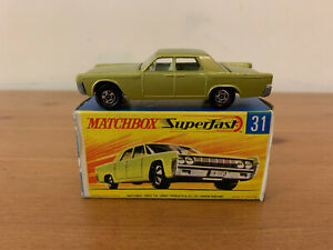 Matchbox Superfast 31 Lincoln Continental