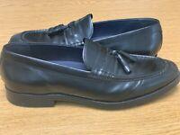 Cole Haan Jefferson Grand Tassel II Mens Size 10.5 Black Leather Oxford Shoe