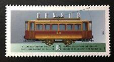 "Canada #1527e MNH, Historic Land Vehicles ""2"" Ottawa Streetcar Stamp 1994"