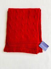 Ralph Lauren Collection 100% Cashmere Cable Knit Scarf - Unisex