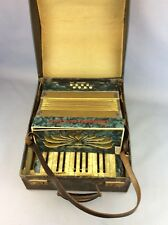 Steldeni De Luxe Foreign Accordian Cased Ship Worldwide