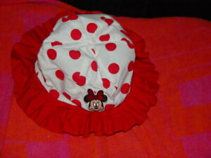 Mickey Mouse Red And White Summer Hat