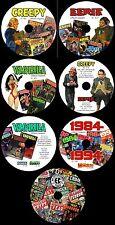 800+ COMICS CREEPY EERIE VAMPIRELLA 1984 BLAZING COMBAT COMIX INT WARREN 7 DVD