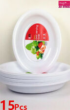 15pcs White Oval Serving Bowl 43cmx32cm Parties Tableware OSB43