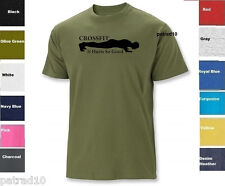 Crossfit Fitness Exercise T-Shirt Training Gym Workout Shirt Sz S-2Xl