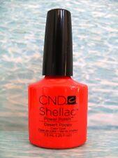 CND SHELLAC DESERT POPPY Open Road Spring 2014 UV/LED Gel Nail Polish .25 oz NIB