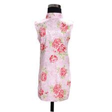 bonito floral niña CHINOS Vestido de color rosa, blanco 18 meses a 7 años