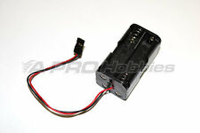 4xAA Battery Holder w/Servo Plug Cable Lead for LEDs, Servo Tester, RX Pack