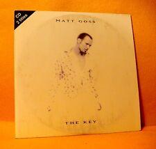 Cardsleeve Single CD MATT GOSS The Key Joe T. Vannelli mixes 2TR 1995 Dance