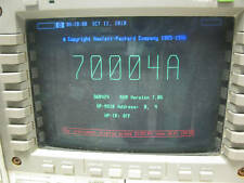 Agilent HP 70004A. COLOR DISPLAY AND MAINFRAME