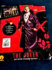 Rubies Suicide Squad The Joker Adult Costume Plus Size 46-52 Jacket #17992