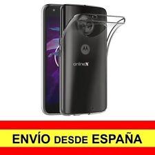 Funda Silicona para MOTOROLA MOTO X4 Carcasa Transparente ¡España! a3066