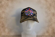Vintage British Cafe Racer,Mütze,Trucker Cap,Camo,Triumph,BSA,Norton,Old School