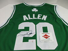 Ray Allen Signed Boston Celtics Jersey / 5th Overall Pick 96 NBA Draft / COA