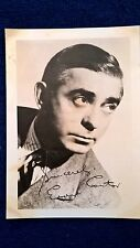 Eddie Cantor Comedian autographed photo Early Generic Signed 5 X 7